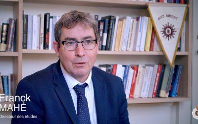 Interview de Franck Mahé – Directeur pédagogique de l'internat Bois Robert